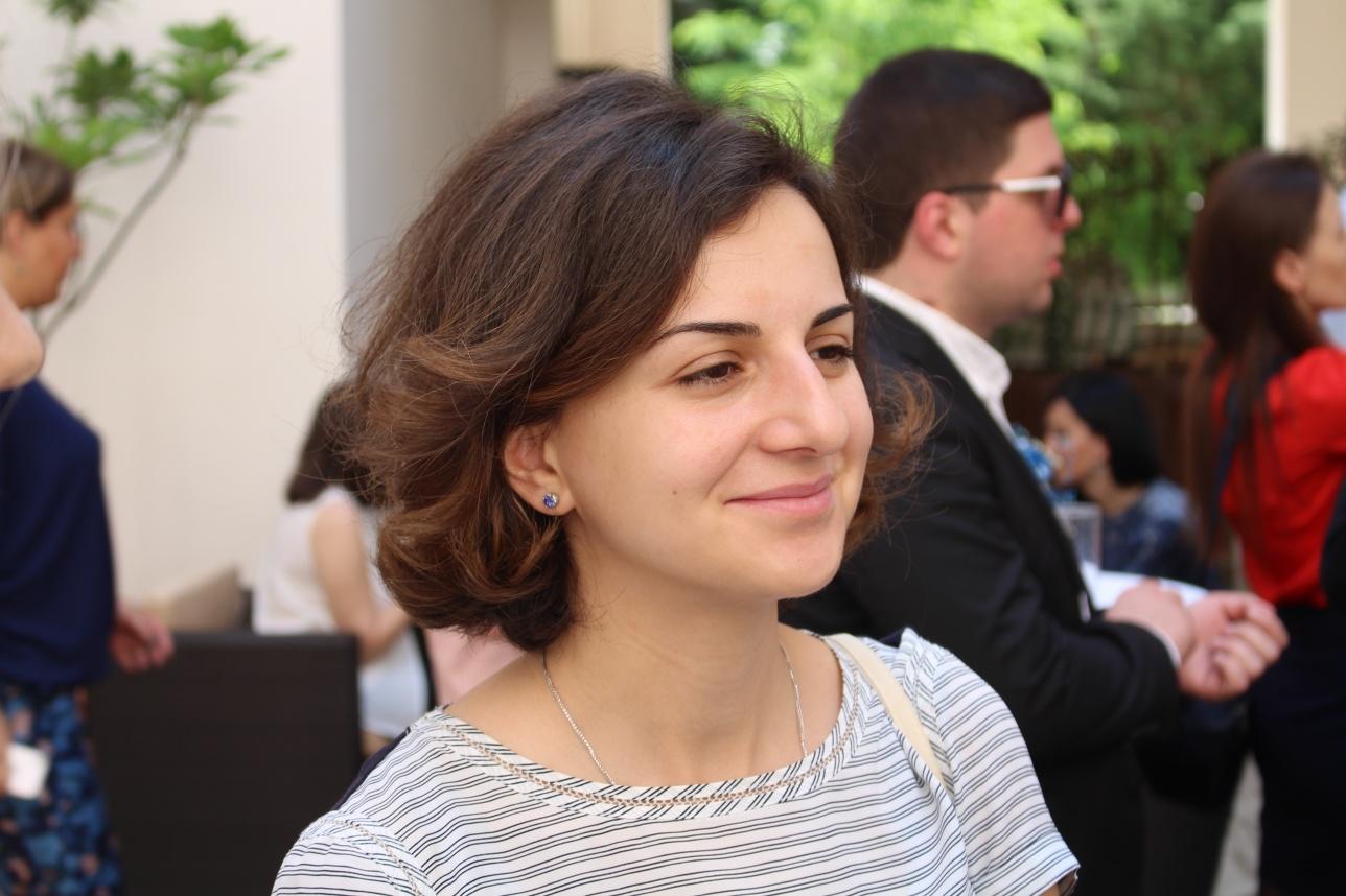 Первый заместитель туристической администрации Грузии Русудан Мамацашвили