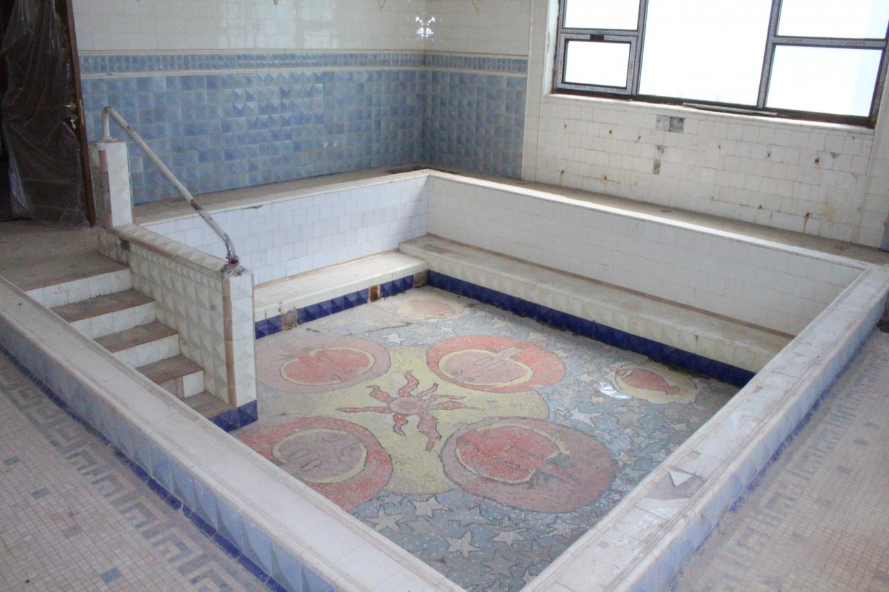 Личный бассейн Сталина с советских времён не реставрировался