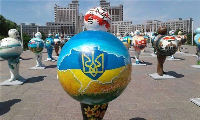А Украину художники оставили без полуострова Крым