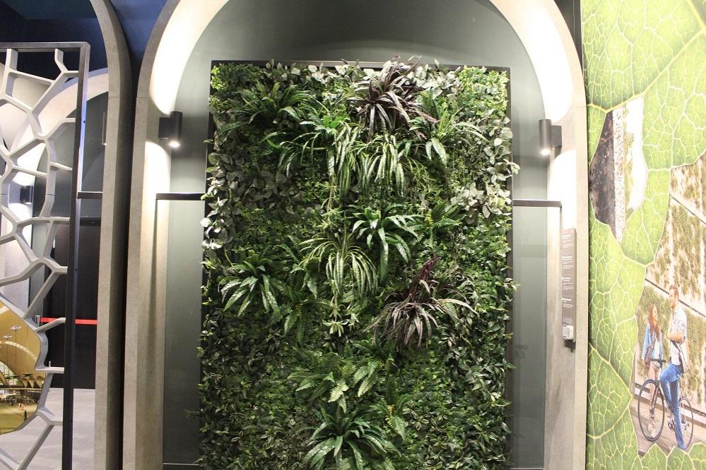Бетон, на котором растут цветы с помощью технологий