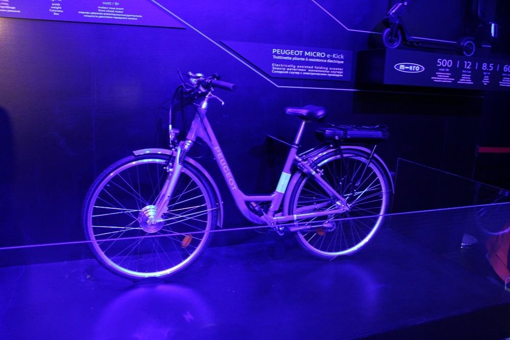 Электрический велосипед PEUGEOT