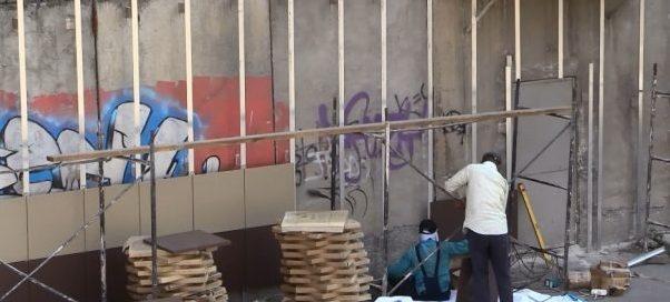 Граффити в Шымкенте по