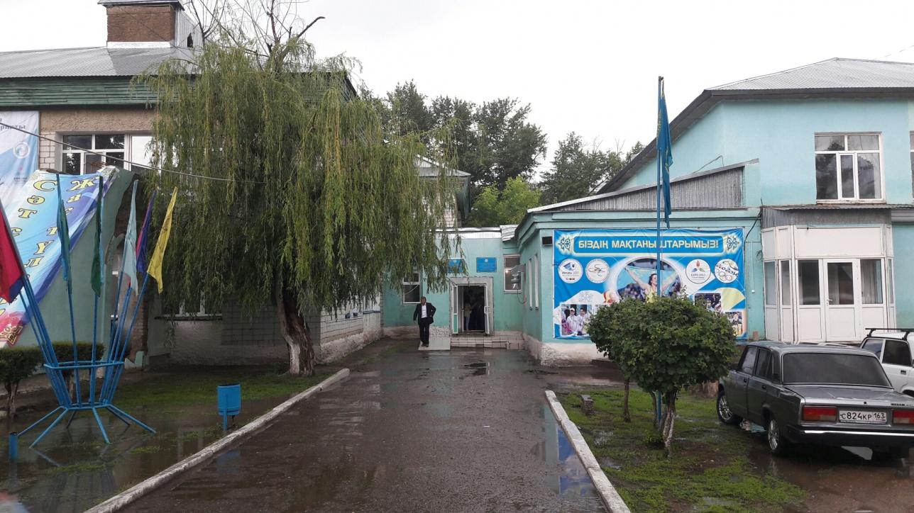 Спортивная школа-интернат расположена в здании бывшего детского сада