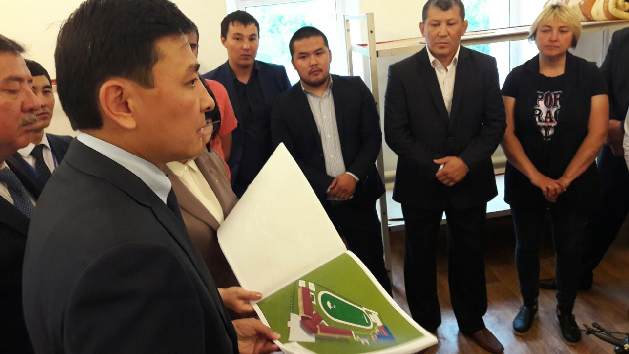 Альтай Кульгинов пообещал переселить детей в новую школу