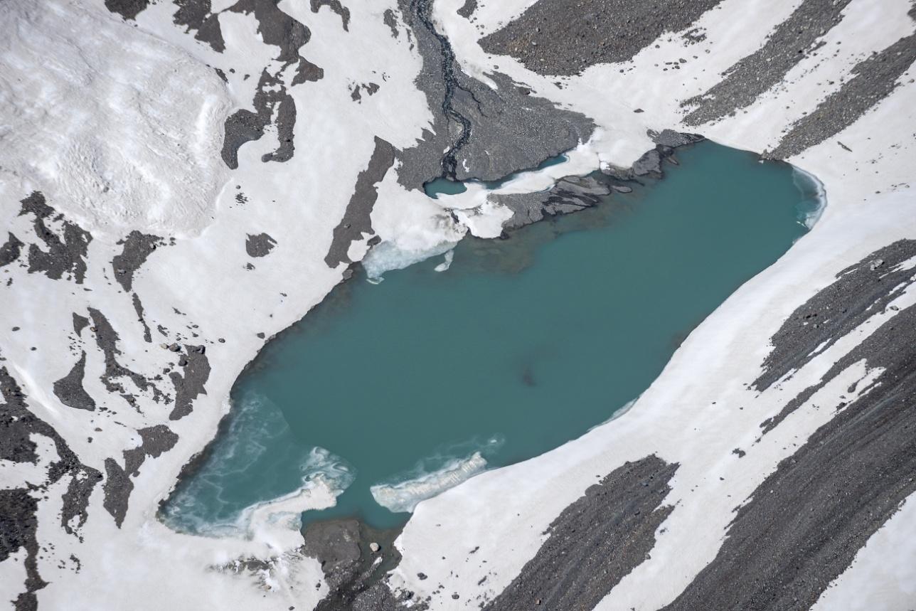 Моренные озера в Северном Тянь-Шане расположены на высотах от 3000 метров над уровнем моря