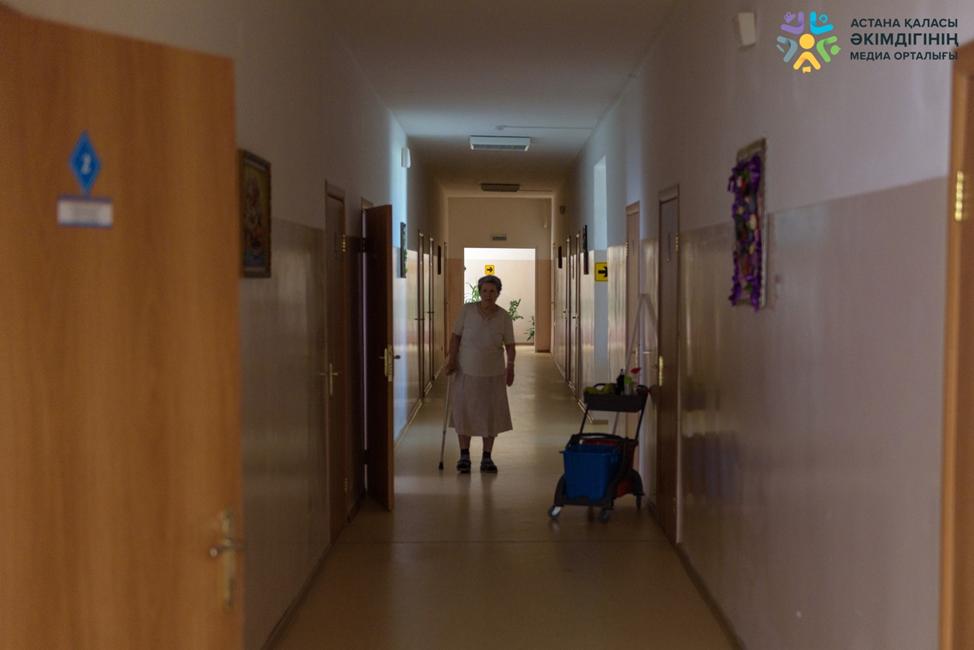 В Астане открылось отделение дневного пребывания для пожилых людей и инвалидов I и II группы