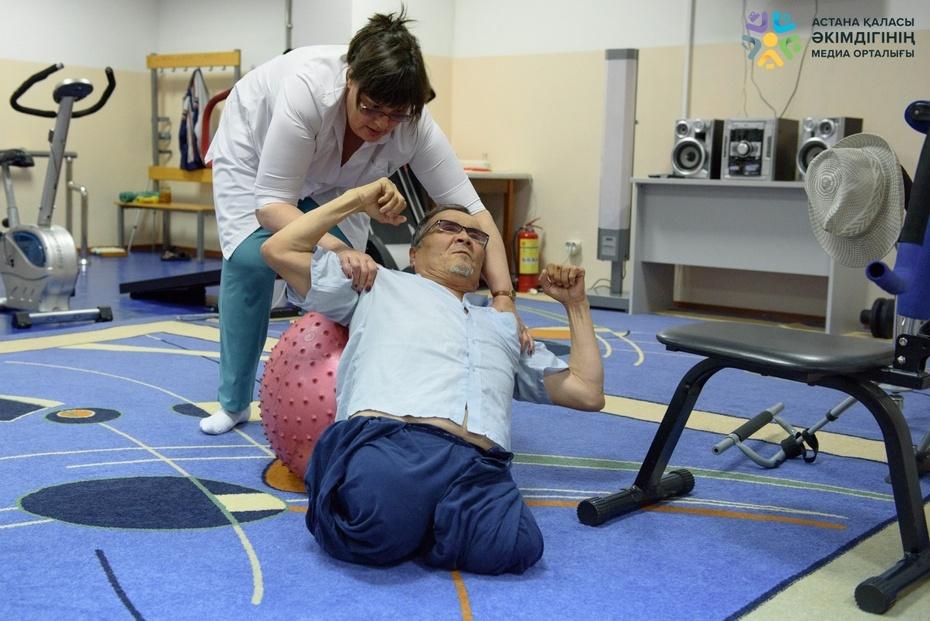Упражнения для каждого постояльца врач выбирает индивидуально