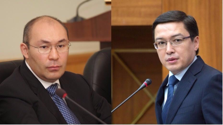 Кайрат Келимбетов и Данияр Акишев