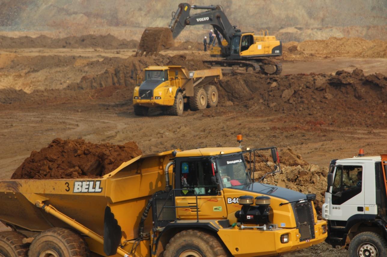 Добыча окисленной руды месторождение Северный Райгородок