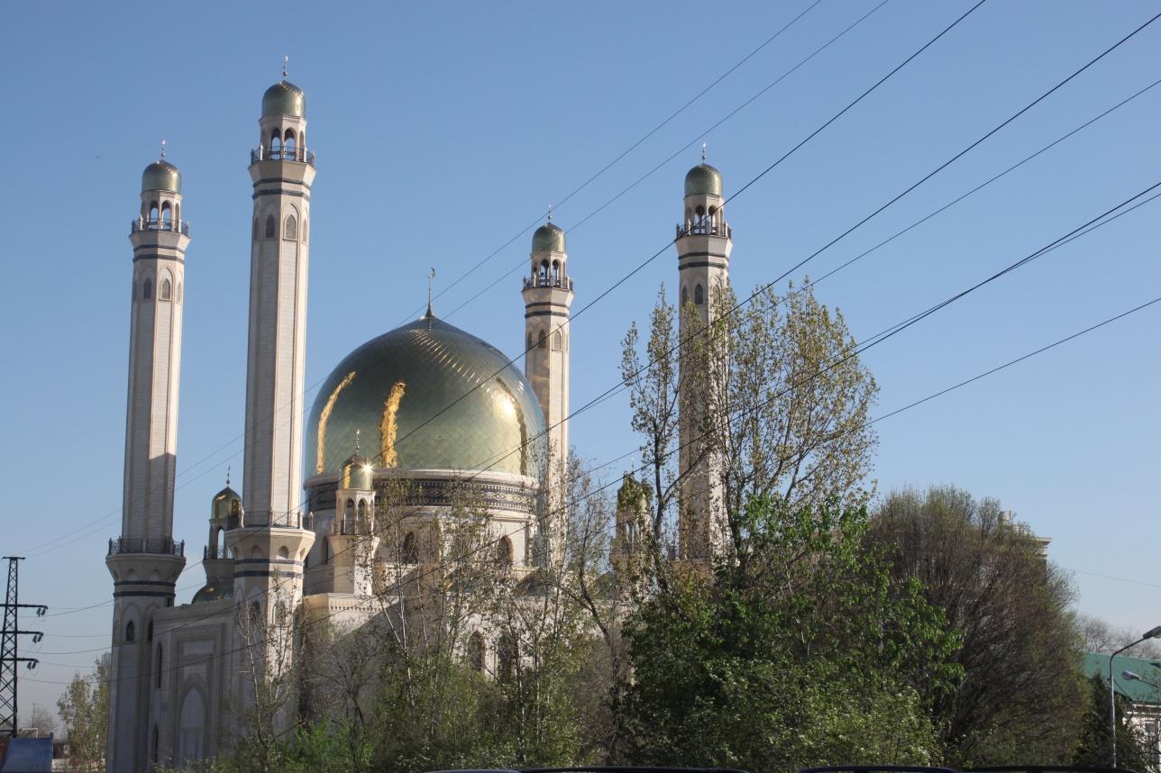 """Мечеть """"Байкен"""" в Алматы"""
