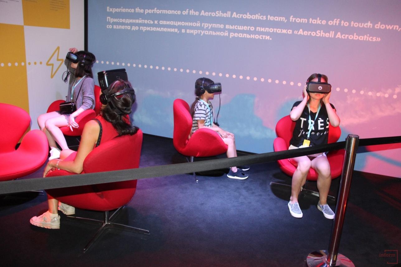 Виртуальная реальность в павильоне Shell