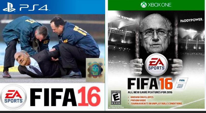 Возможные обложки игры FIFA16