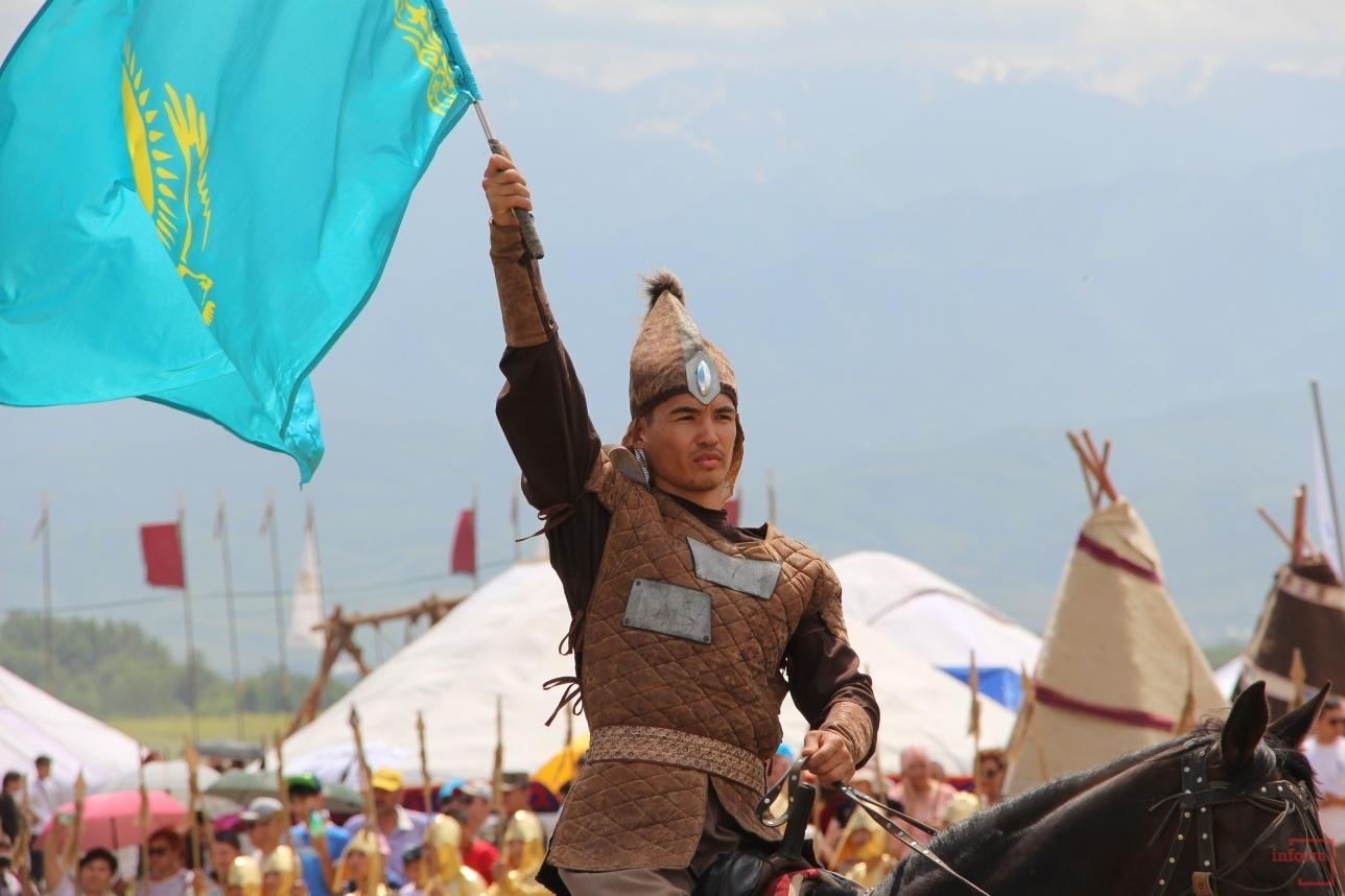Казахстанские и иностранные участники фестиваля