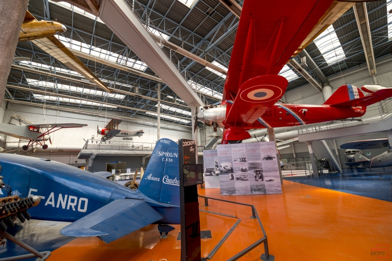 Музей истории авиации в Ле Бурже