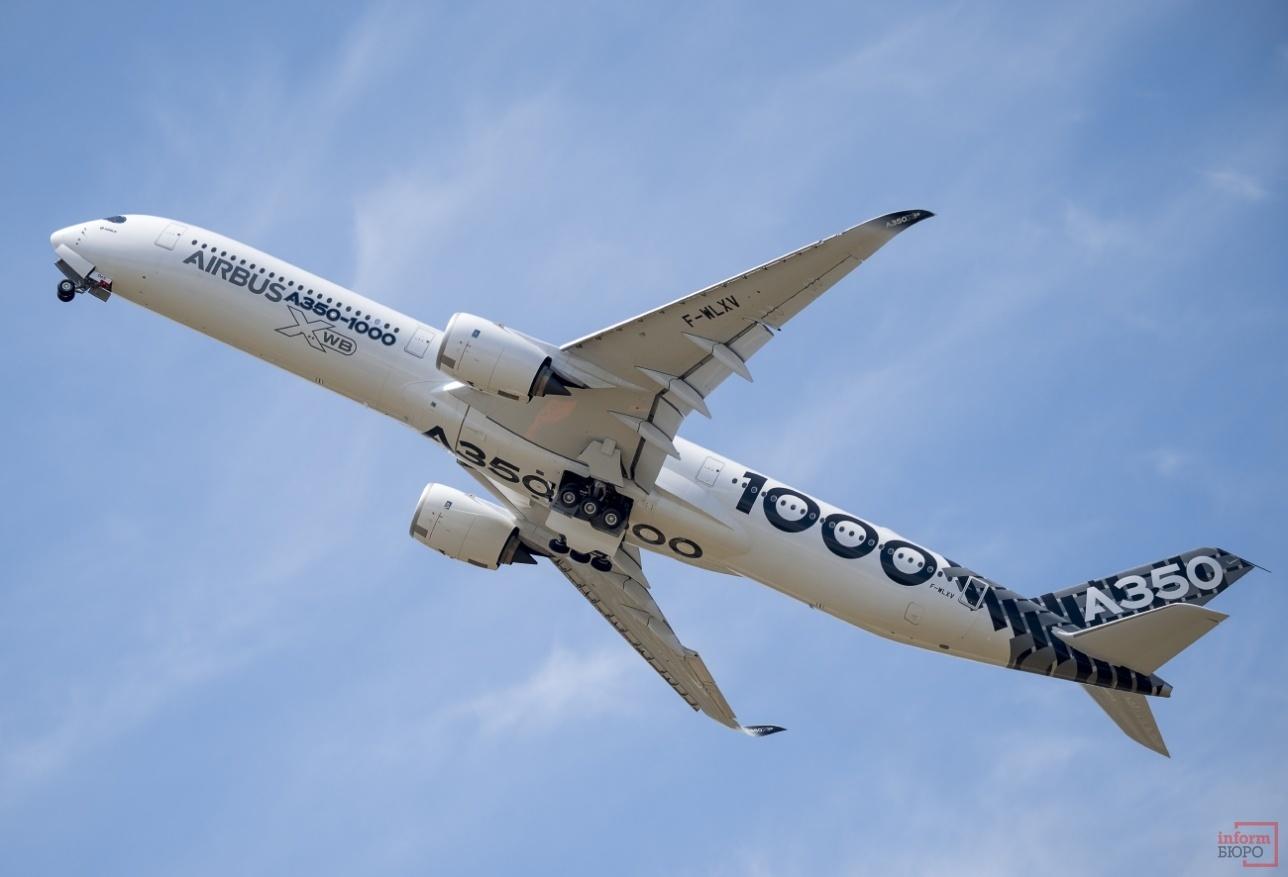 Демонстрационный полёт А-350-1000