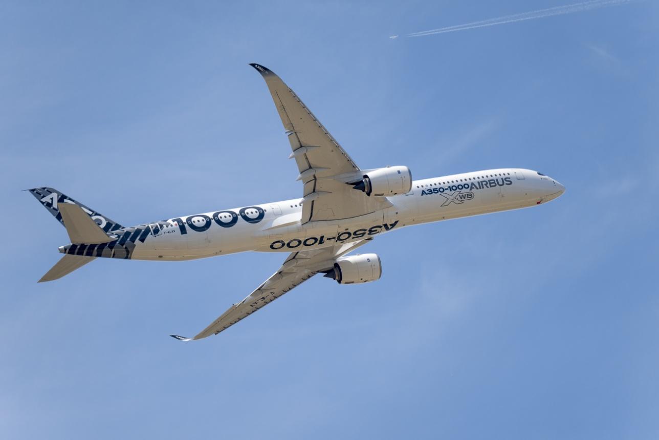 Самолёт Airbus А-350-1000