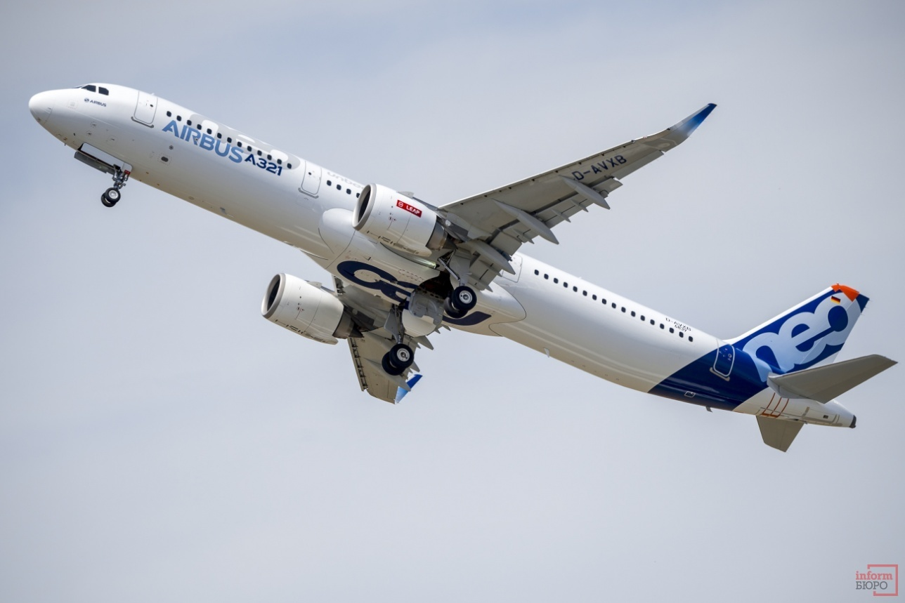 Взлёт A321neo