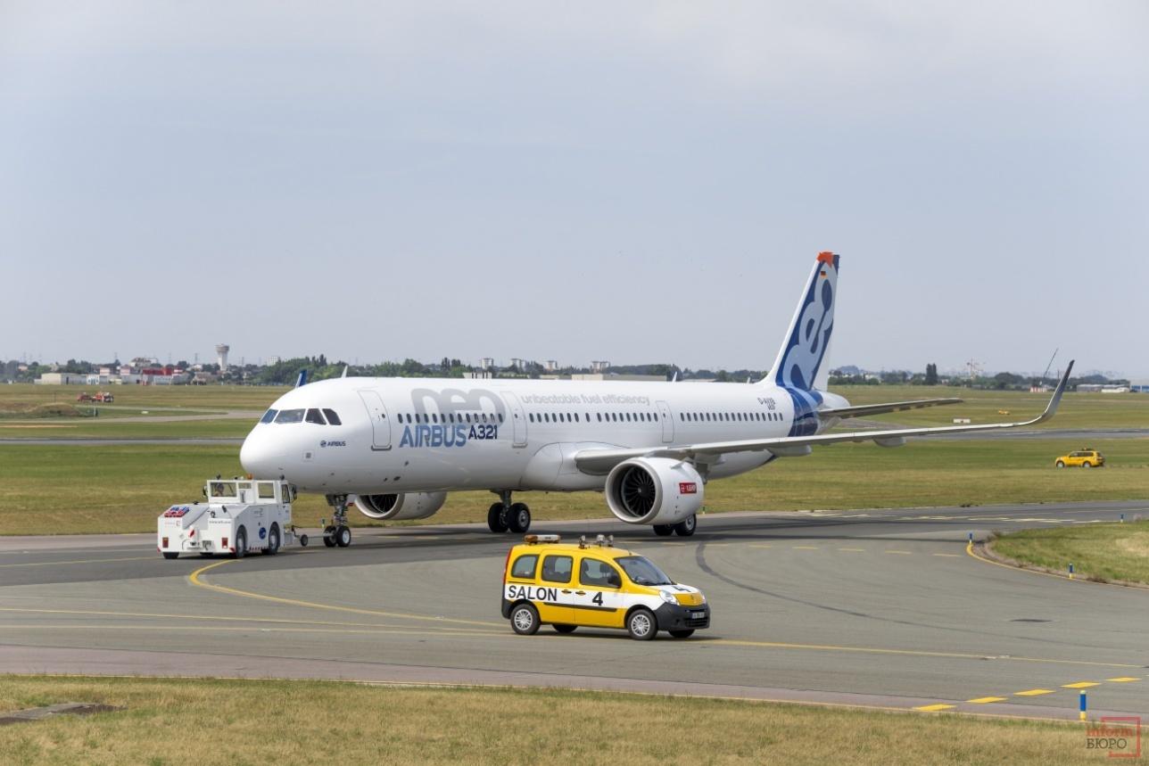 Буксировка A321neo