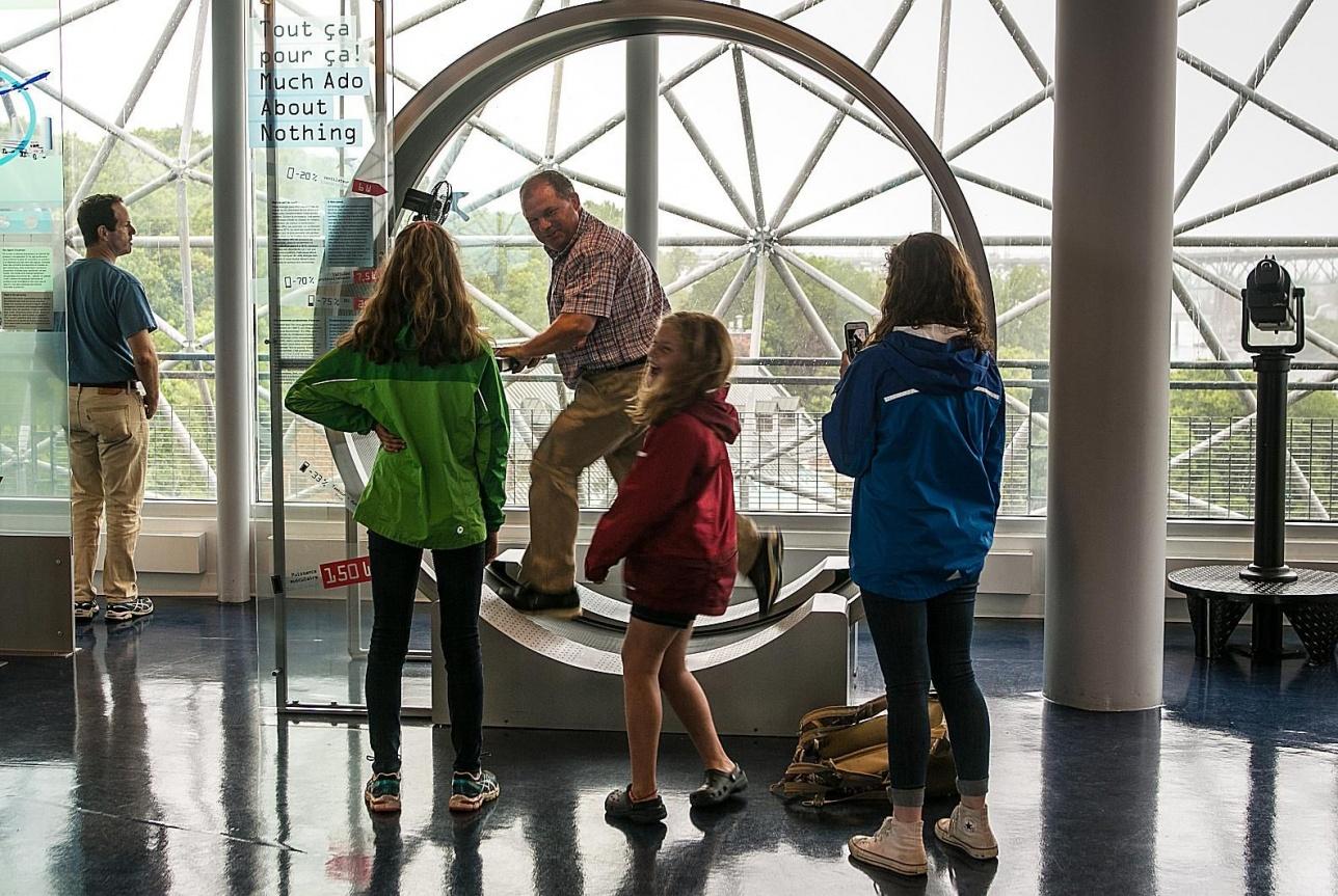 """Сегодня """"Биосфера"""" один из самых посещаемый музеев мира"""