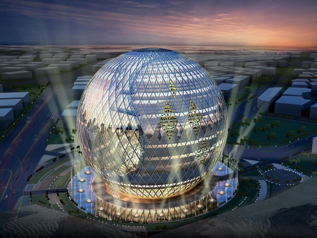 Предполагается, что здание будет полностью автономным в вопросе потребления энергии