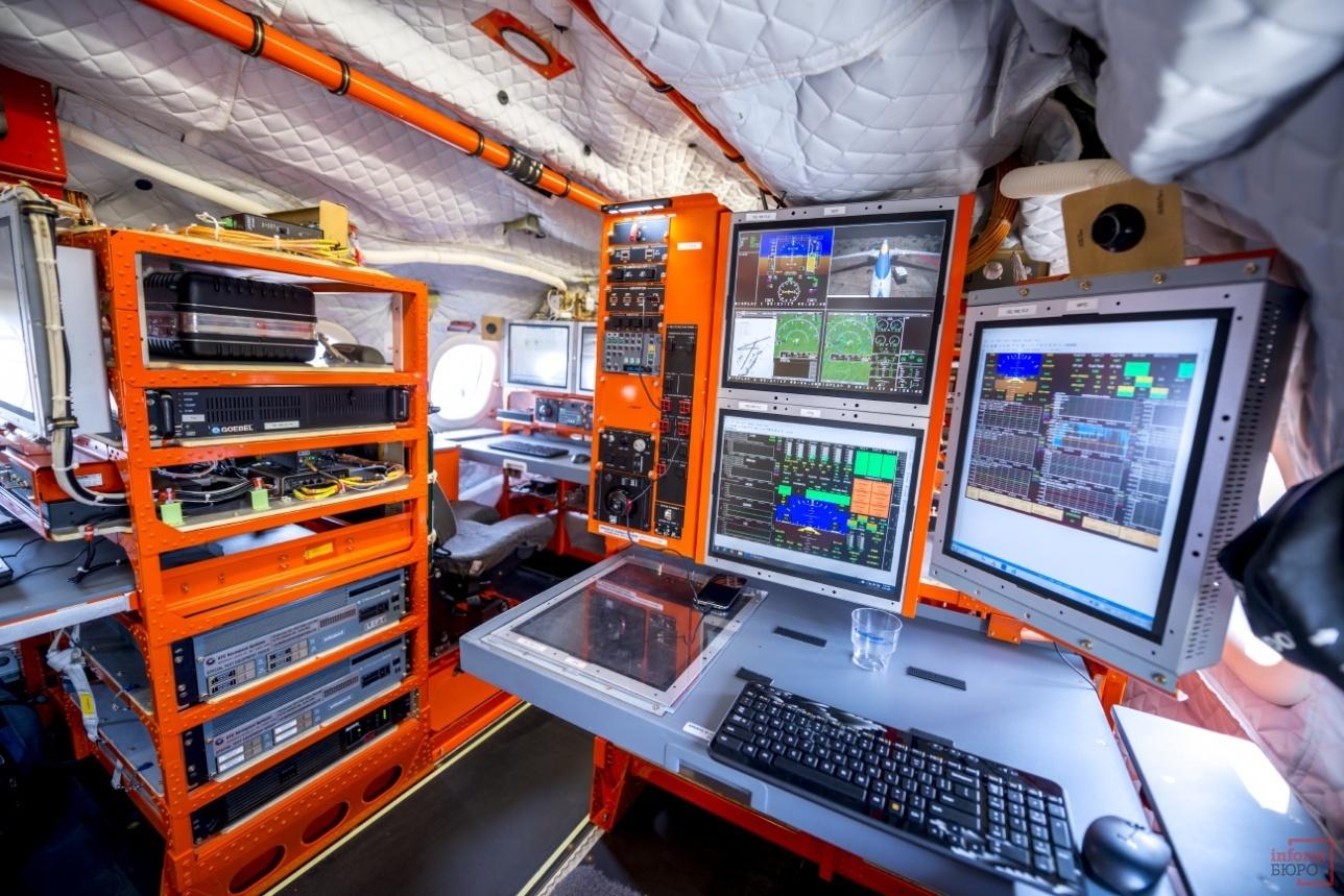 Бортовое параметрическое оборудование