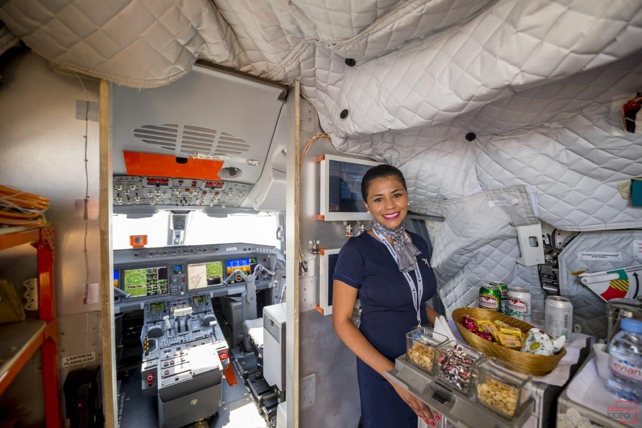 На борту E-195-E2