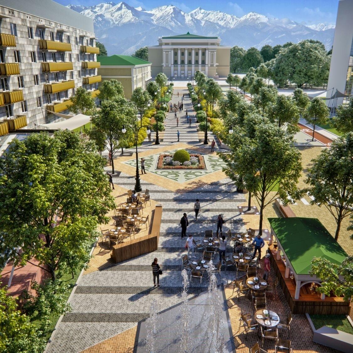 Реконструкция улиц будет проводиться в угоду пешеходам