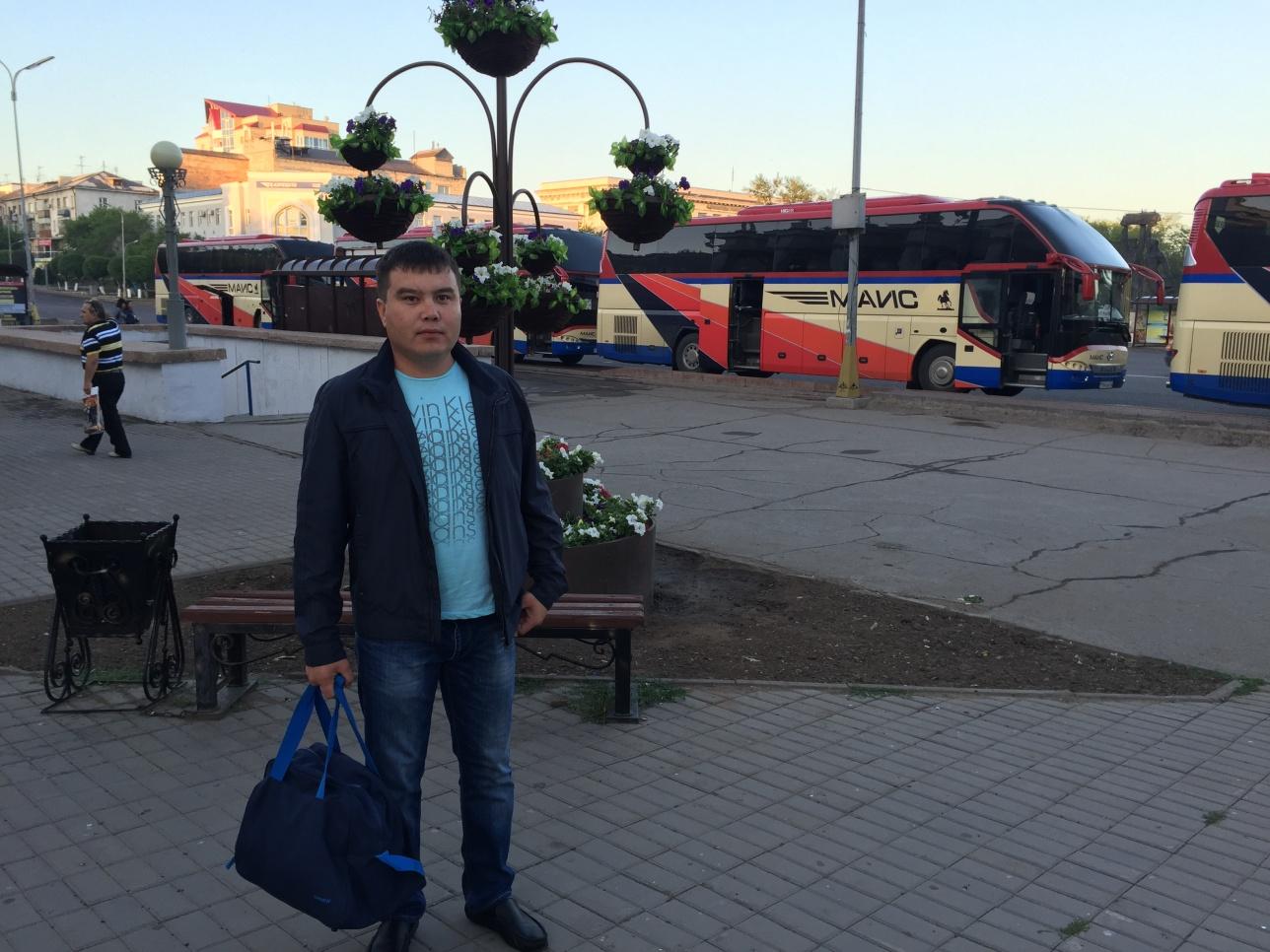 Асхат Шәбденов Қарағандының сапаржайында