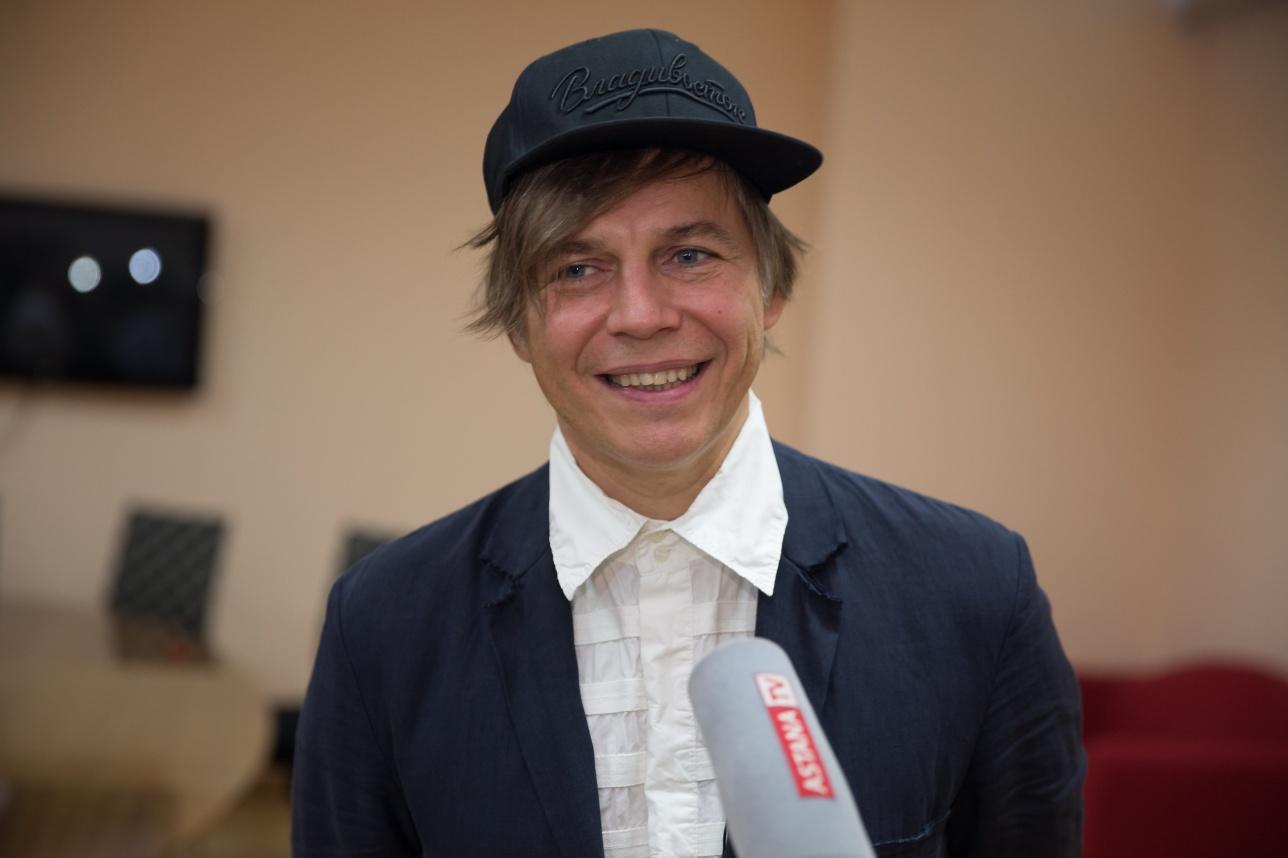 Илья Лагутенко на пресс-конференции