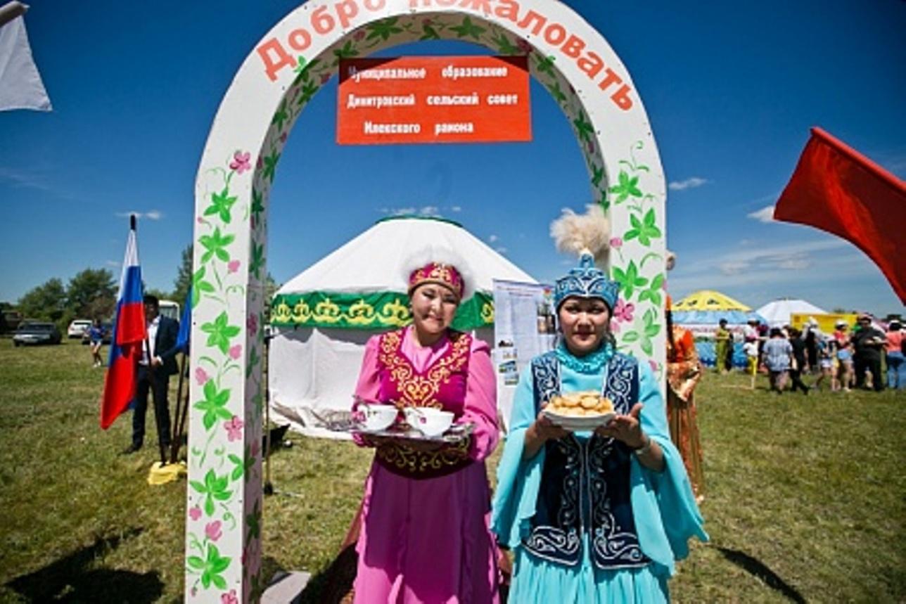 Казахи радушно встречали гостей