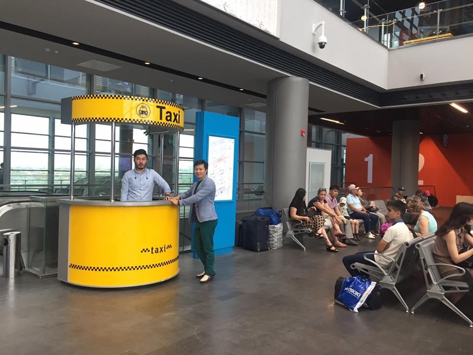 Зампред правления СПК Astana Бауржан Канкин в качестве эксперимента стал таксистом