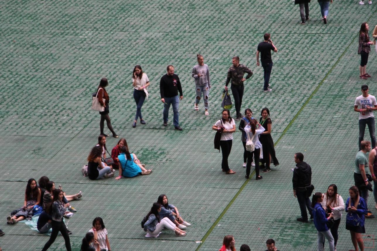 В ожидании концерта