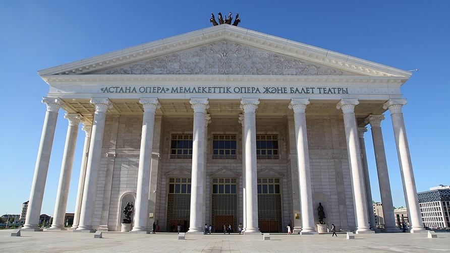 Опера және балет театрының ауданы 64 мың шаршы метрді құрайды