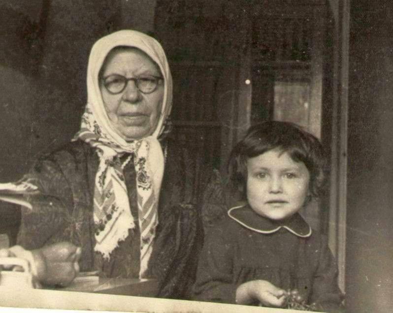 Снимок из архива: детство Джамили в Казахстане