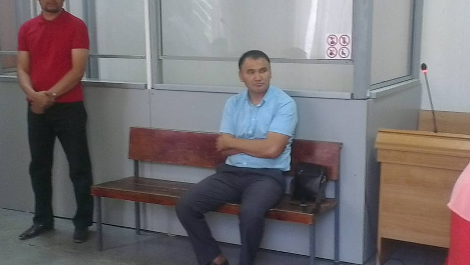 Журналист Берик Жагипаров