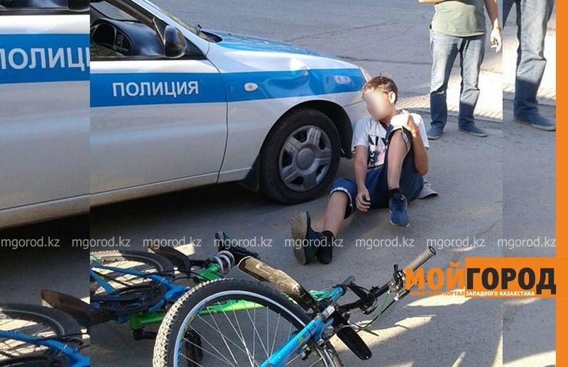 Мальчик получил перелом ноги со смещением