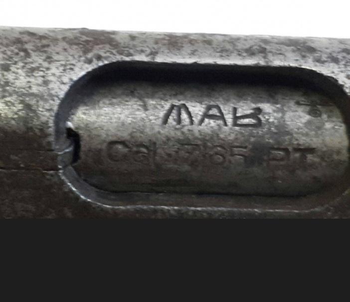 Клеймо пистолета МАВ