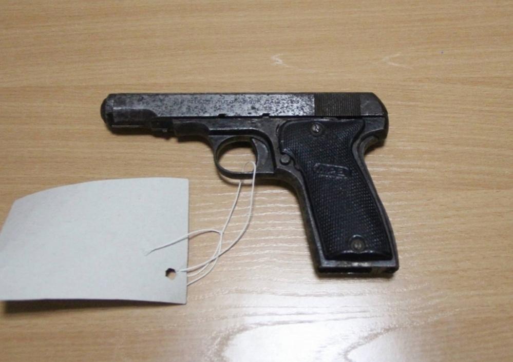 Пистолет 1933 года выпуска сохранился в отличном состоянии и пригоден для стрельбы