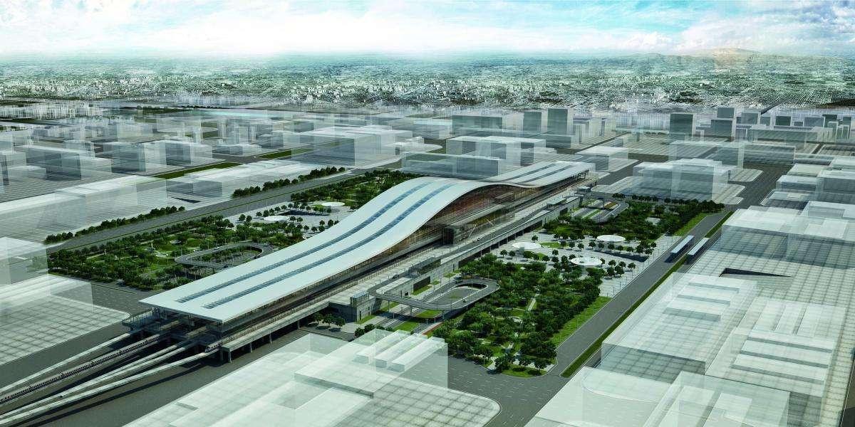 Вокзал Астаны претендует на архитектурный Оскар