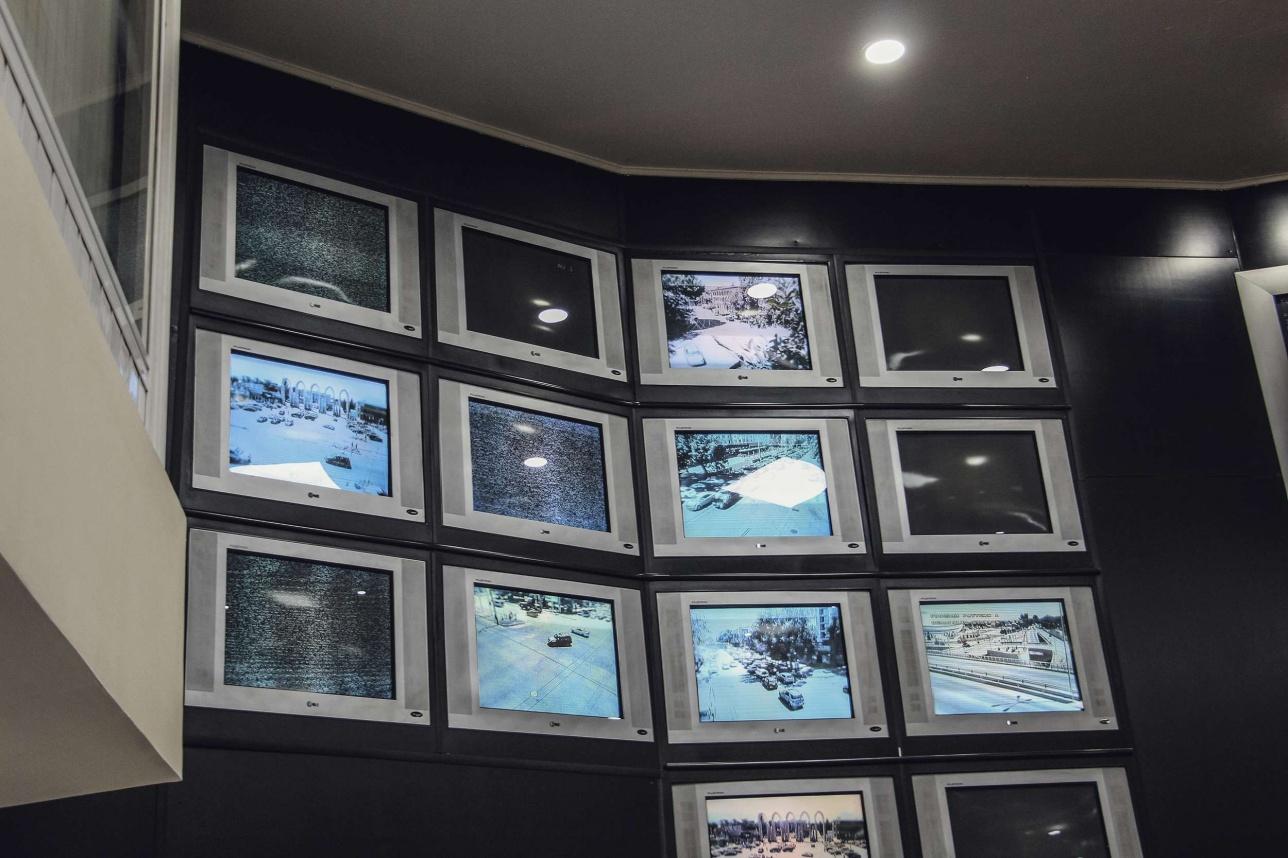 Сотни камер наблюдения круглосуточно передают данные в ЦОУ