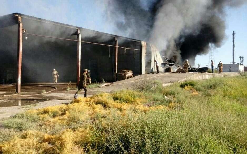 Огнеборцы тушили пожар почти два часа