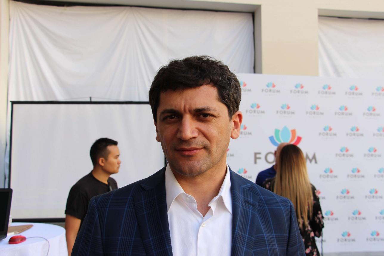 Председатель правления ТРЦ Алихан Шамилов