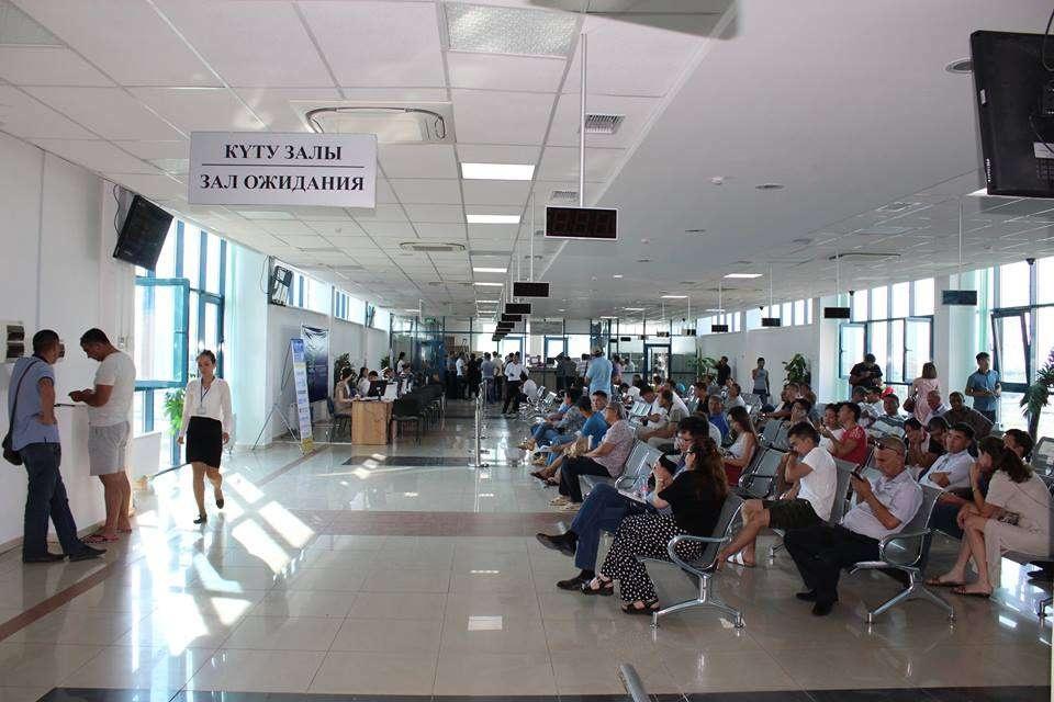 В спецЦОНе Астаны расширили зал ожидания и улучшили сервис