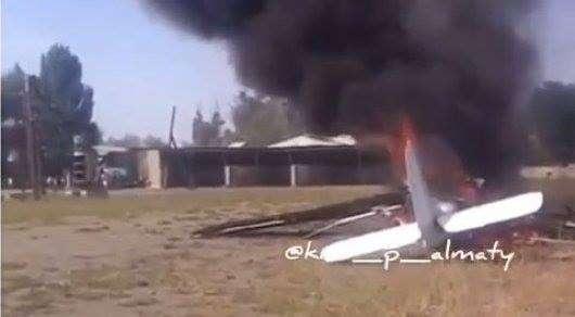 КГА приостановил работу самолётов ЯК-12 в Казахстане