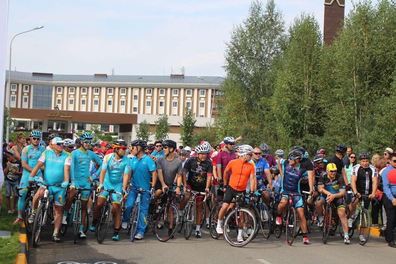 В прошлом году в благотворительном велопробеге приняли участие более 500 человек