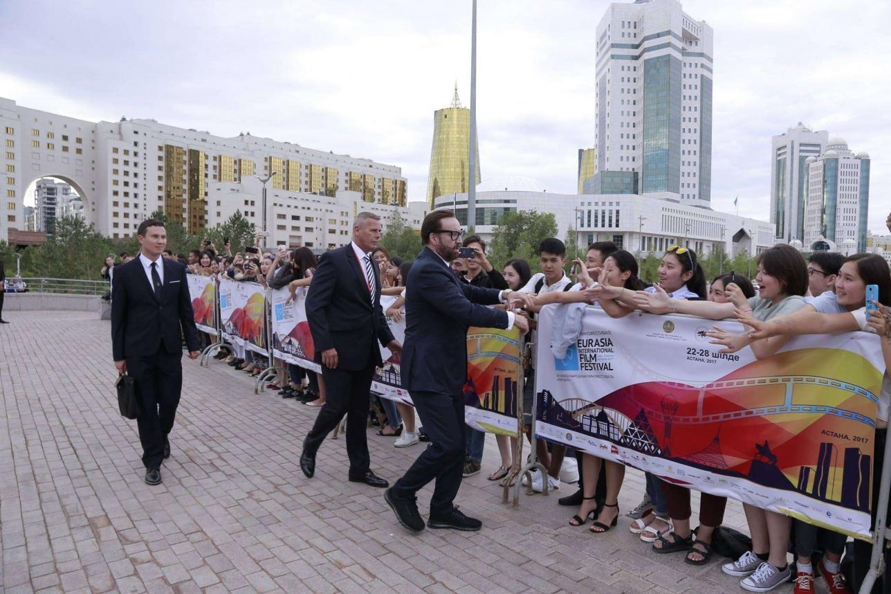 """Николас Кейдж - гость XIII-го кинофестиваля """"Евразия"""" в Астане"""