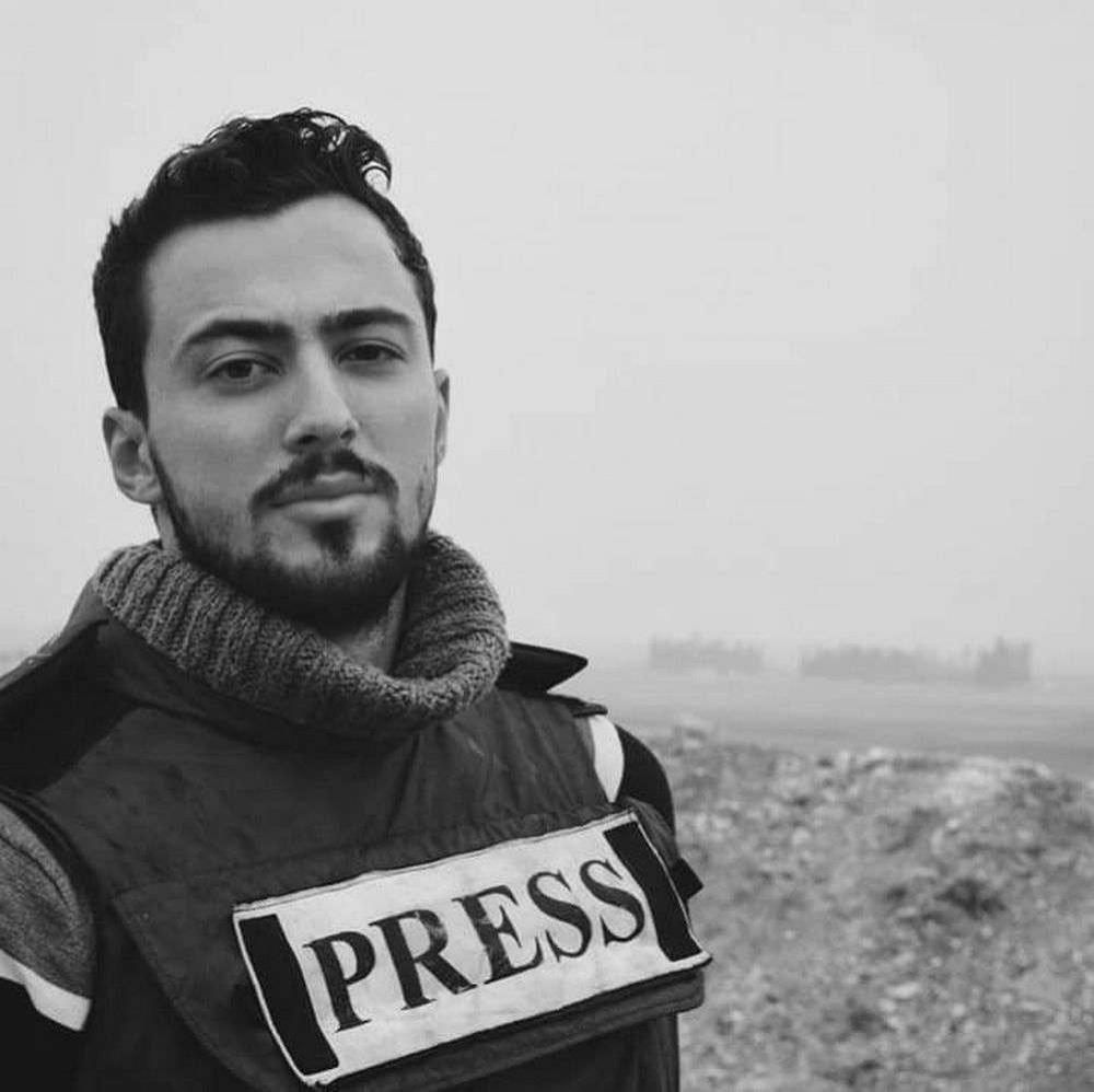Журналист Халед аль Хатыб