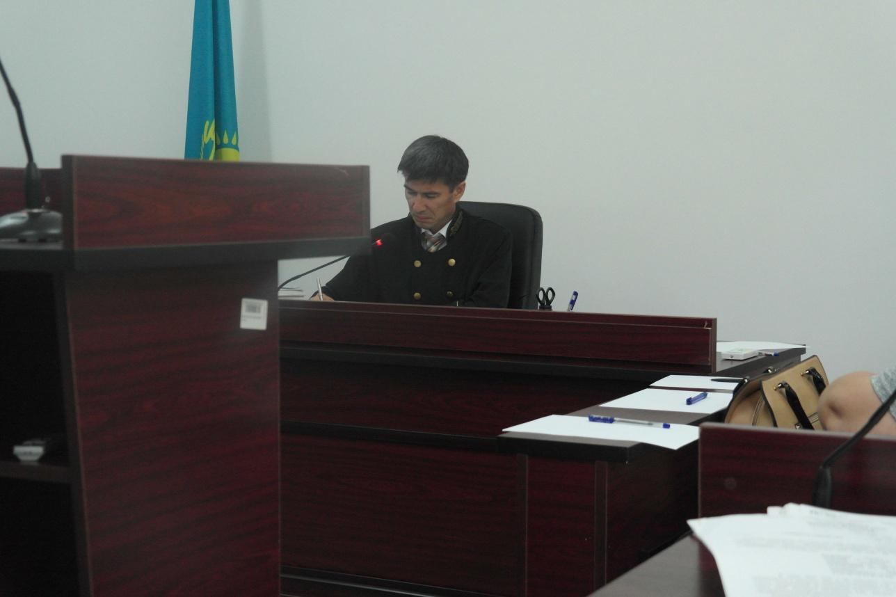 Судья Касым Калмухамбетов