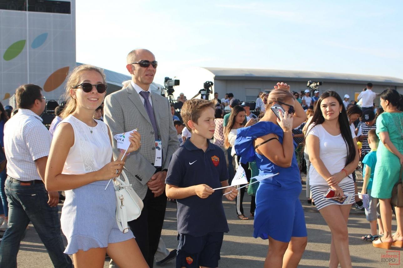 Презентацию нового турнира не пропустили даже иностранные посетители ЭКСПО-2017