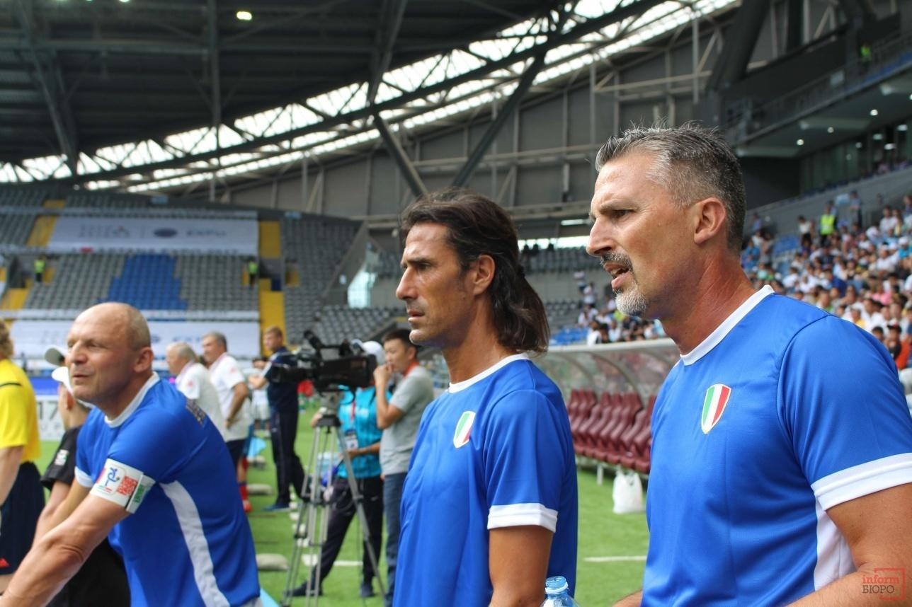 Слева направо: Пьетро Верховод, Марко Дельвеккио и Дино Баджо